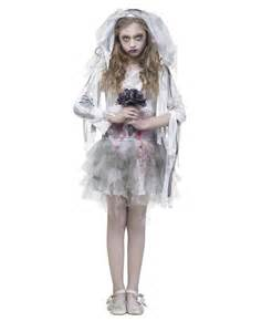 kids bride halloween costume zombie bride girls costume exclusively at spirit halloween