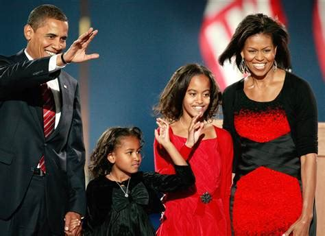 the first family obama elected 44th president politics decision 08
