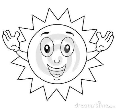 mr sun coloring page coloring happy yellow melon character cartoon vector