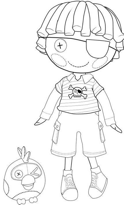 coloring page lalaloopsy dolls free lalaloopsy para colorear coloring pages