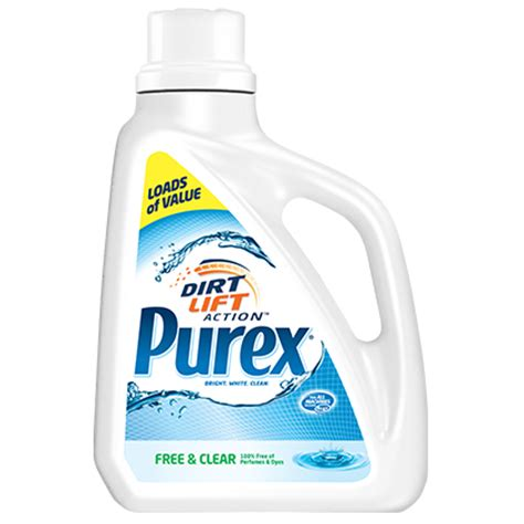 laundry detergent for sensitive skin free and clear laundry detergent for sensitive skin purex