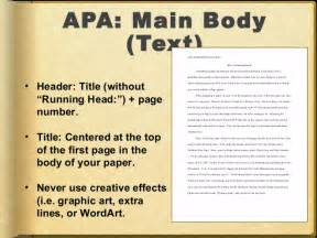 How To Write A Research Paper Using Apa Format Advantages Of Using Apa Format Style Roiinvesting Com