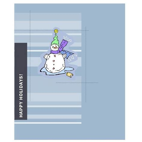 snowman card template free microsoft publisher card templates to