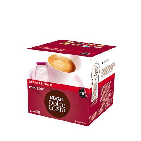 dolce gusto espresso kapseln nescafe dolce gusto expresso entkoffeinierter 16 kapseln