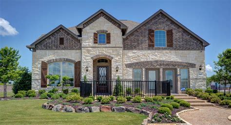 homes for in dallas tx artesia lakeside new home community prosper dallas