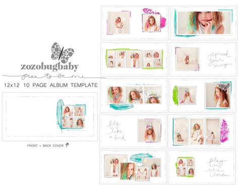 Album Templates Free To Be Me 12x12 For Whcc To Be Products And Templates Free Whcc Templates For Photographers