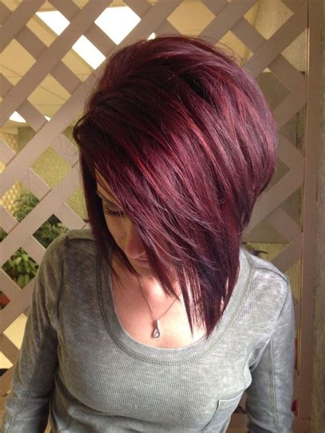 cherry hair pictures short hair 21 bold black cherry hair ideas to embrace the fall