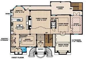 Spanish Style Homes Floor Plans Spanish House Blueprints Plans House Design Plans