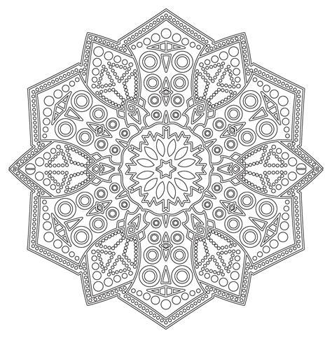 zen mandalas coloring book pdf mandala zen antistress 6 mandalas coloring pages for