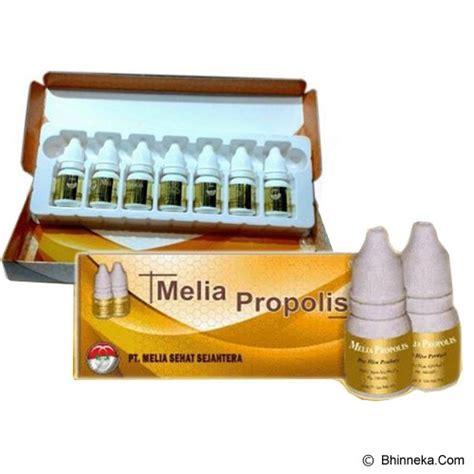 Propolis Melia Eceran Per Botol jual propolis melia sehat sejahtera 1 box isi 7 botol murah bhinneka
