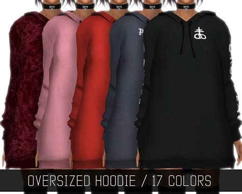 oversized sweater sims 4 cc oversized hoodie simpliciaty