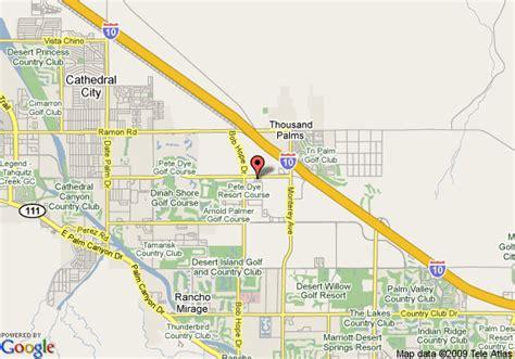 california map rancho mirage westin mission resort rancho mirage deals see