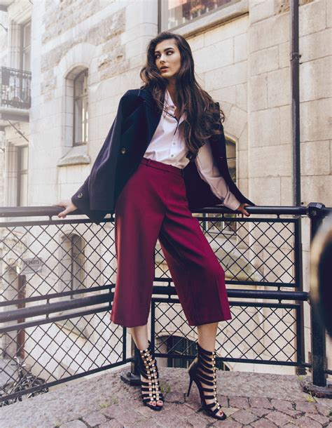 Ginar Cullote 7 ways to style culotte trousers