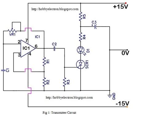 wave infrared ls hobby in electronics ir remote circuit op