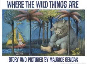 Where the wild things are book sendak vanilla joy