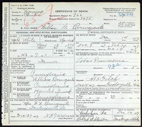 Birth Records Pa Pennsylvania State Birth Certificates On Ancestry Wyoming County