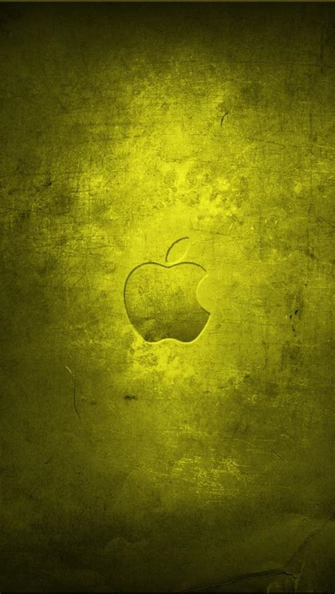 wallpaper iphone 5 hd apple apple old yellow iphone 5 wallpapers hd 640x1136 iphone 5