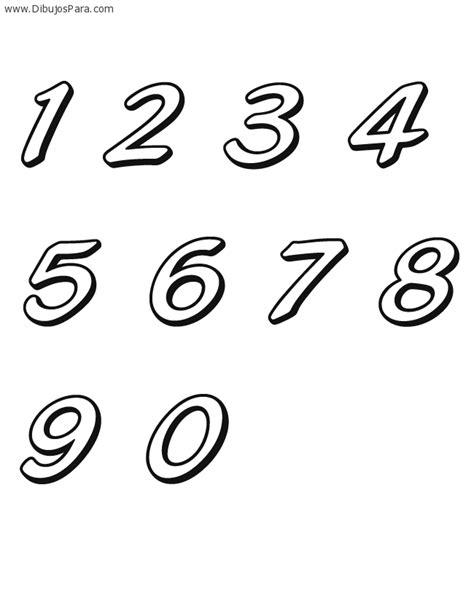 dibujo con el n mero 8 para pintar dibujos de n meros dibujo de numeros del cero al nueve dibujos de numeros