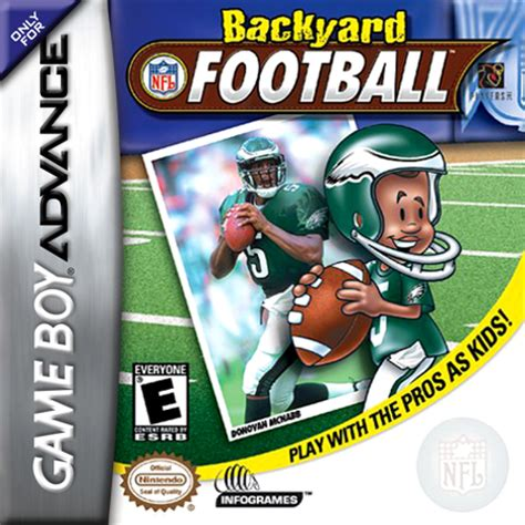 backyard football online game free play backyard football nintendo game boy advance online
