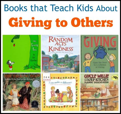 list of picture books to teach theme how to teach to give