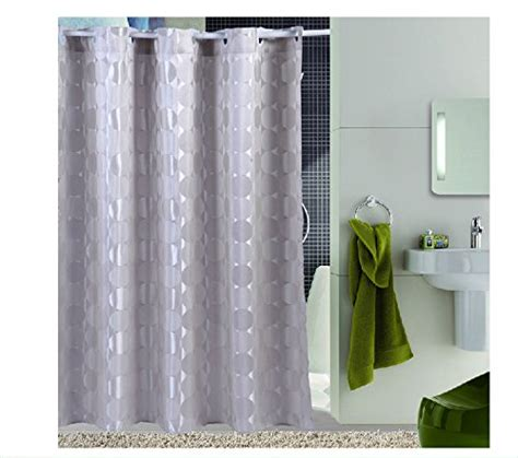 72 by 78 shower curtain eforcurtain cicle pattern waterproof shower curtain 72