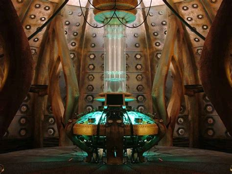 9th Doctor Tardis Interior by Alm7 Tardis