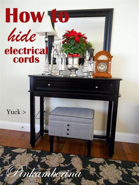 17 best ideas about hide electrical cords on