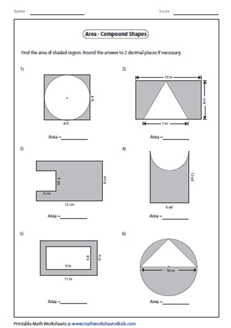 Area Compound Shapes Worksheet Answers by Search Results For Area Of Compound Shapes Calendar 2015