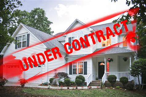 under contract house what does quot under contract quot mean anyway fontaine family the real estate leader