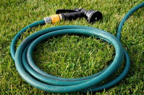 garden hose head stock photo image  green garden