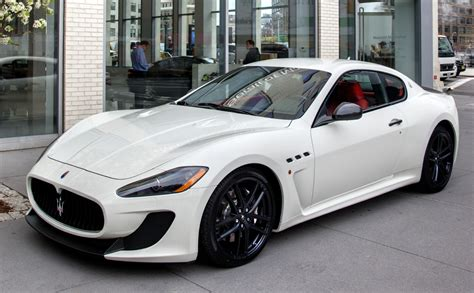car maserati price maserati prices granturismo mc at 143 400