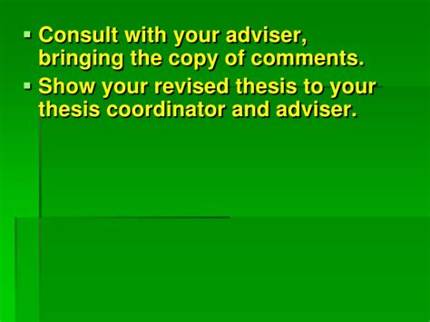 thesis advisor consultant tips on how to defend your thesis