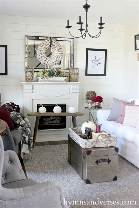 plum and grey living room foraged fall home tour hymns and verses