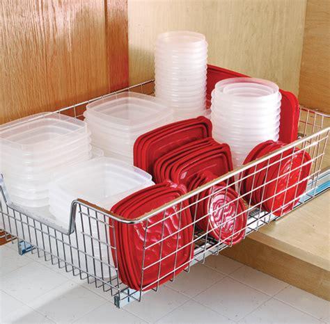 comment ranger efficacement les contenants de plastique