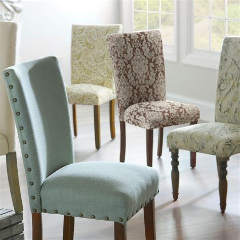 dining room chair fabric ideas best 25 dining room chairs ideas on
