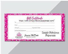 Free Printable Gift Voucher Template Instant Download No Registration Required Printables Paparazzi Gift Certificate Template