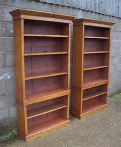Images Of Bookcases bookcases pair of full height victorian satinwood open bookcases