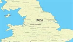 Halifax England Map by Where Is Halifax England Where Is Halifax England
