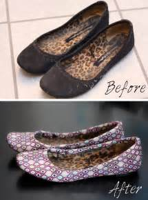 Decoupage Shoes With Fabric - oh my gosh i to try this fabric modge podge and