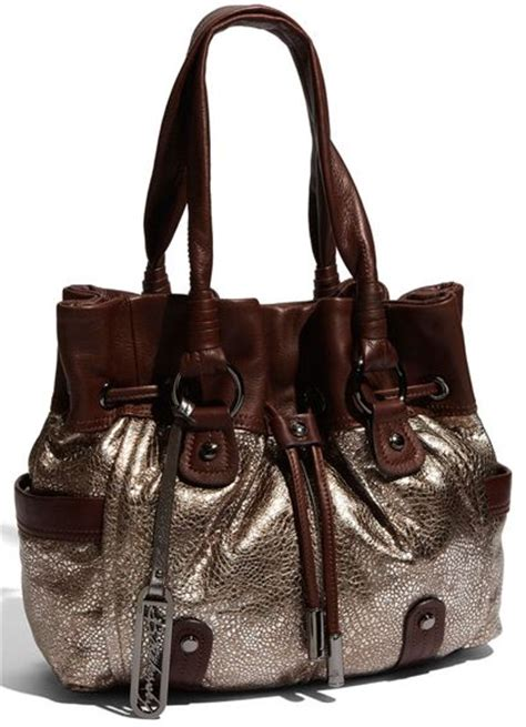 Natasia Ali Bronze Metallic Tote Bag by 17 Best Images About B Makowsky On Bags