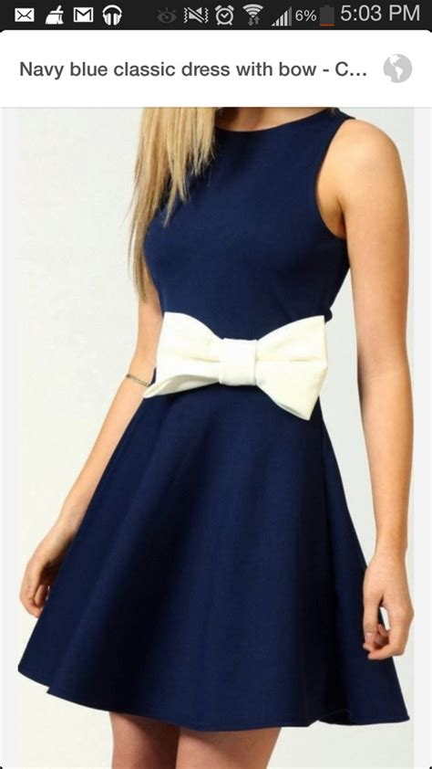 Bow Geometric Dress White Blue Size L boohoo penelope skater dress with bow detail ebay