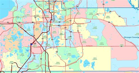central florida zip code map winter park fl zip code