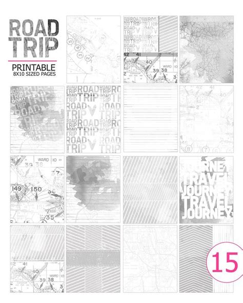 printable travel journal pages travel journal printable pages travel journals