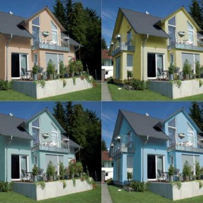 Hausfassade Grau Weiß by Die Fassade Hausfassaden Farben Blau Wei 195 194 Mediterran