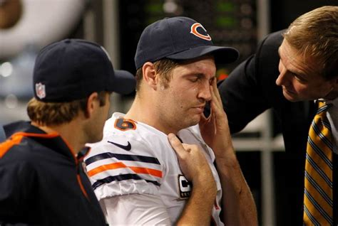 bears bench jay cutler images bears vs vikings dailyherald com