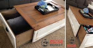 Diy Storage Table 6 Step By Step Tutorials On Diy Coffee Tables With Hidden