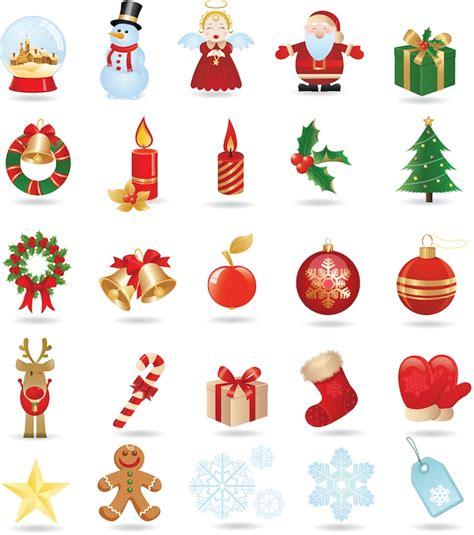 Christmas objects vector | Vector Graphics Blog Free Clip Art Christmas Theme