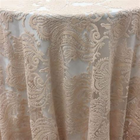 Carina Table Overlay  Pale Pink   MTB Event Rentals