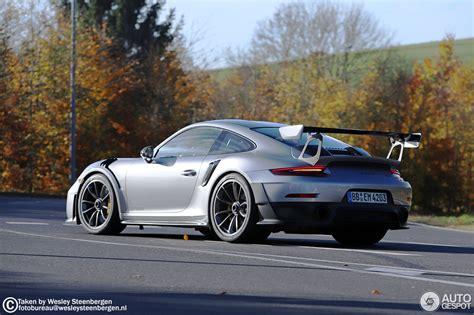 Porsche Gt2 991 by Porsche 991 Gt2 Rs Weissach Package 9 November 2017