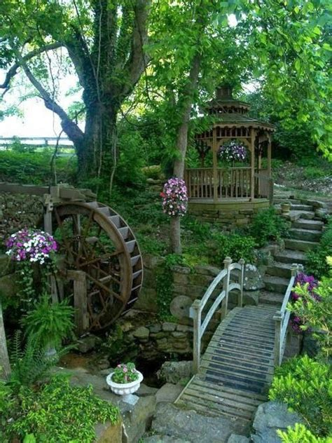pretty backyards beautiful backyard garden birds pinterest